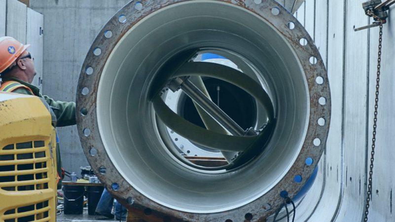 LucidPipe, sistema de generación eléctrica con turbina en tubería de agua