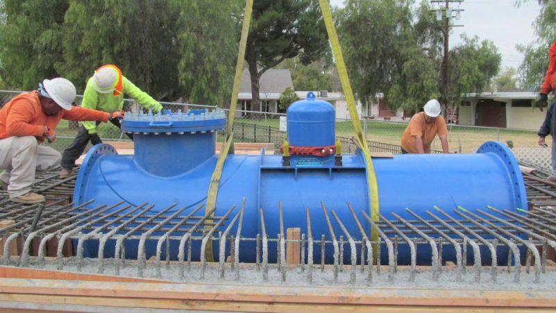 LucidPipe, Detalle de la instalación en la tubería de agua