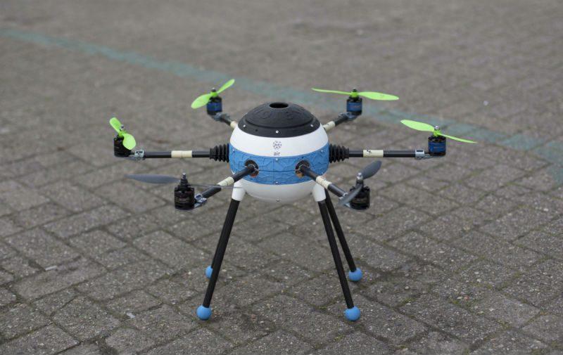 Mine Kafon Drone, Hassani Design Bv, 2016.