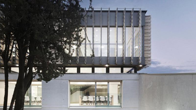 Oak House School, Trasbordo Arquitectura, 2016.