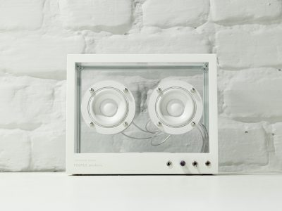 Small Transparent Speaker, People People, 2017.
