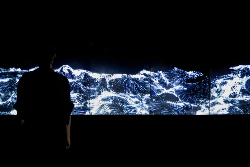 Dark Waves (2016), TeamLab en Pace London
