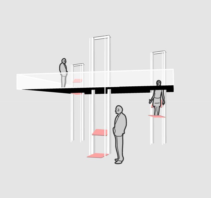 VertiWalk, las escaleras del futuro de Rombout Frieling lab