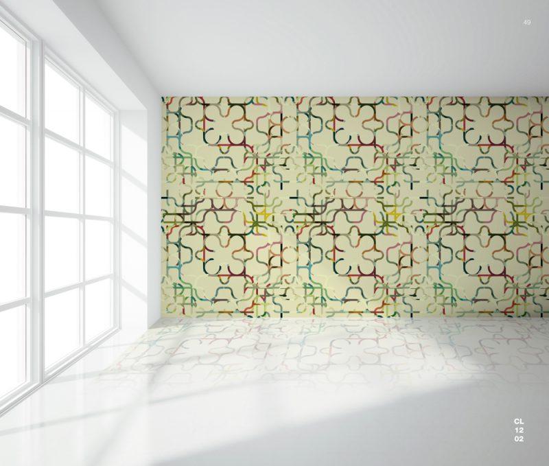 Wallpaper, colección de papel pintado de Mar Vera y Victor Camacho