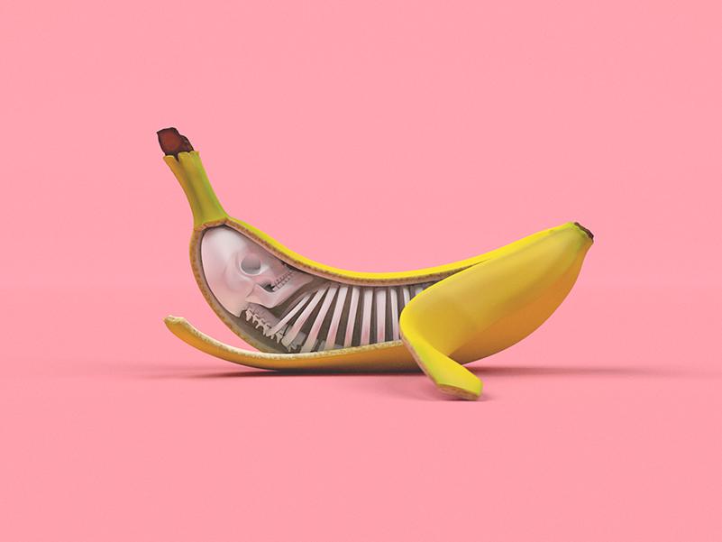 Bananas, corto de animación de Xander Marritt y Elias Freiberger