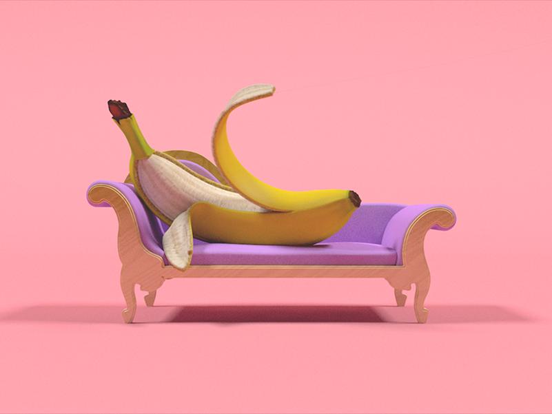 Bananas life, corto de animación de Xander Marritt y Elias Freiberger