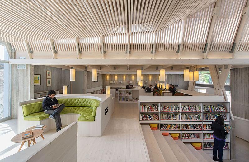 Biblioteca Municipal de Constitución, Chile. Sebastián Irarrazaval Arquitectos, 2016