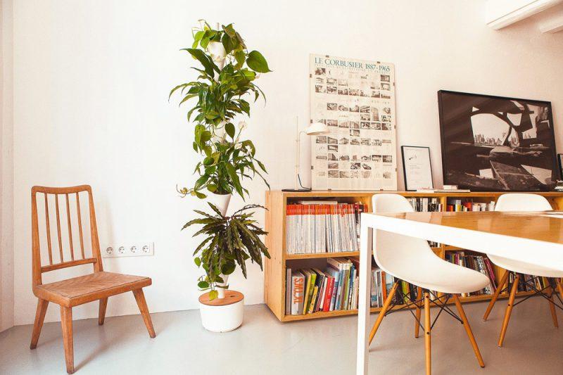 Citysens jard n vertical de interior con riego autom tico for Riego jardin vertical