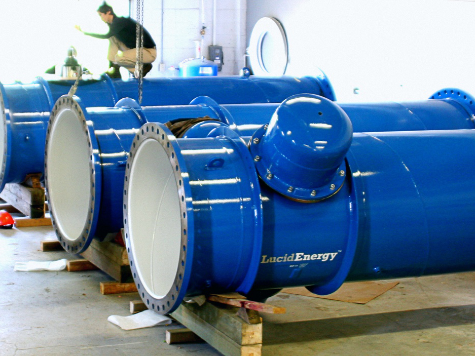LucidPipe, generación de electricidad por medio de la canalización del agua potable.