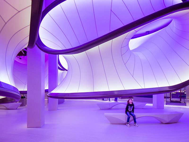 The Winton Gallery, un proyecto de Zaha Hadid Architects para el Science Museum de Londres