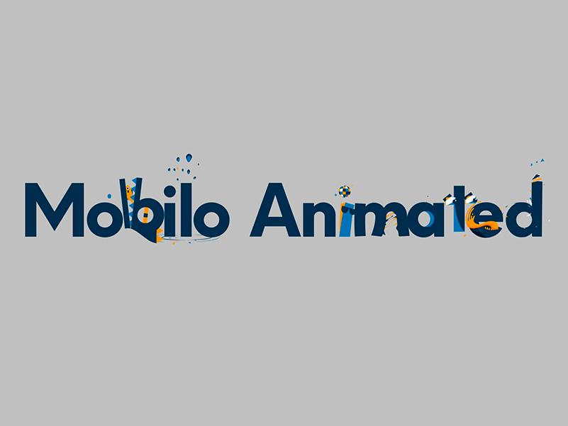 Mobilo Animated, la tipografía animada gratuita de Animography