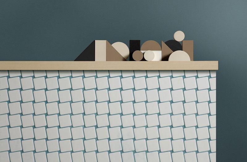Nuc, el mosaico de ilusiones ópticas de Mut Design
