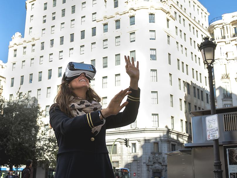 El primer rascacielos, realidad virtual en el Espacio Fundación Telefónica
