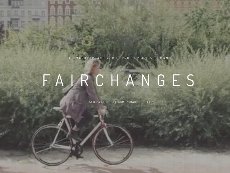 FairChanges, la tienda verde pro derechos humanos