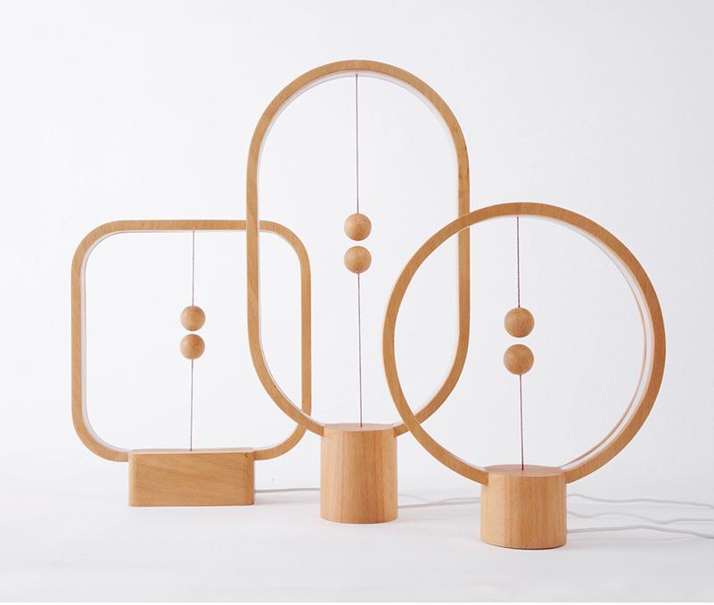 Heng, lámpara con encendido magnético de Zanwen Li