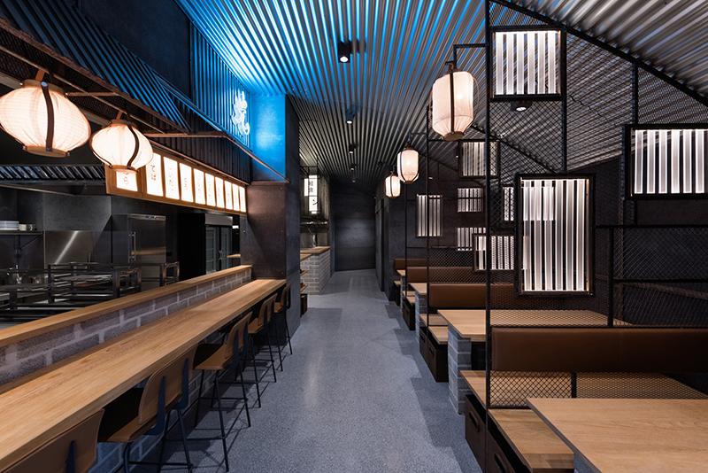 Hikari Yakitori Bar, Masquespacio, 2017 © Luis Beltran