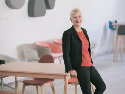 María Luisa Galardi, ganadora del Premio Joxe Mari Korta 2016 a la trayectoria empresarial.