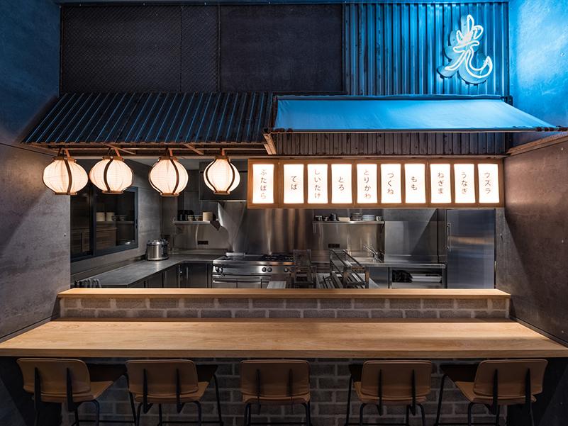 Hikari Yakitori Bar, de Masquespacio. Interiorismo japonés en Valencia