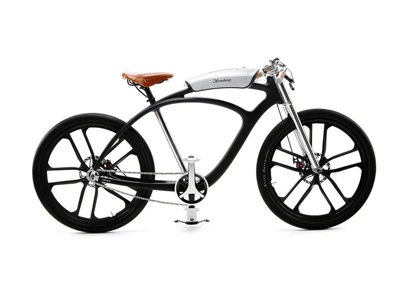 La bicicleta eléctrica con reproductor de música de Gregor Fras