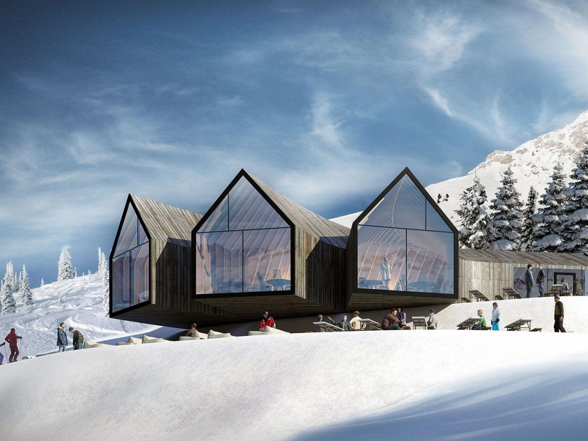 Oberholz Mountain Hut, el refugio de montaña de Peter Pichler y Pavol Mikolajcak