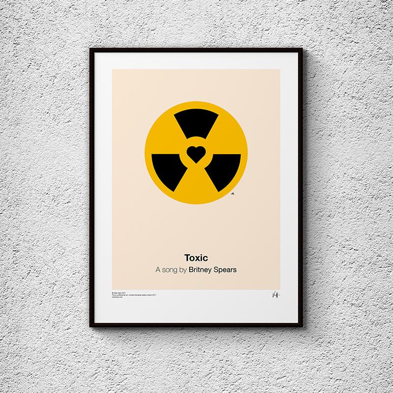Pictogram Music Posters, la serie de postres de Viktor Hertz inspirados en canciones