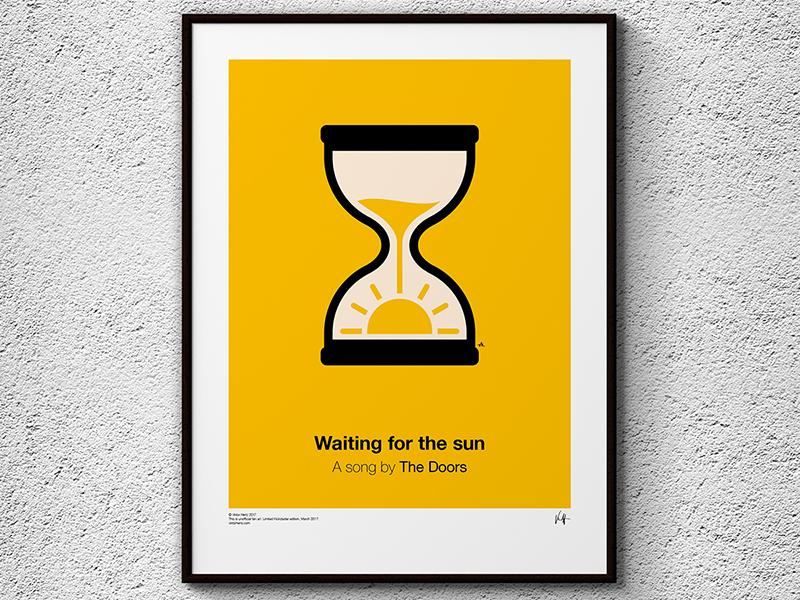 Pictogram Music Posters, la serie de Viktor Hertz inspirada en canciones