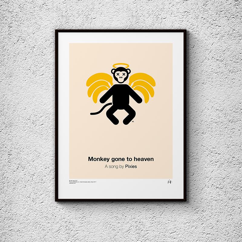 Pictogram Music Posters, la serie de posters Viktor Hertz inspirados en canciones