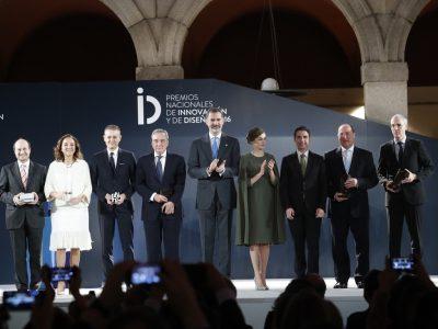Premios Nacionales de Innovación y Diseño 2016. © Casa de S.M. el Rey