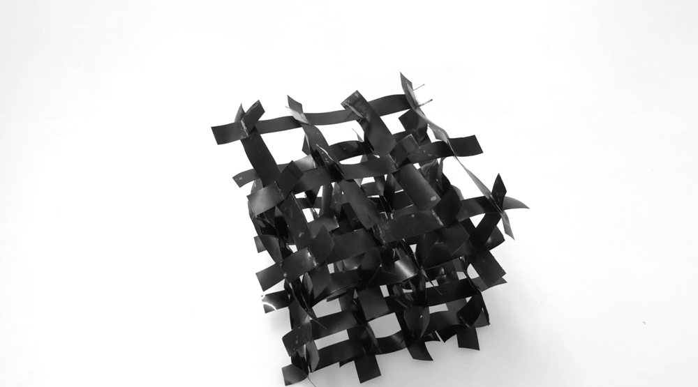 Active Auxetic Material, del Self-Assembly Lab del MIT