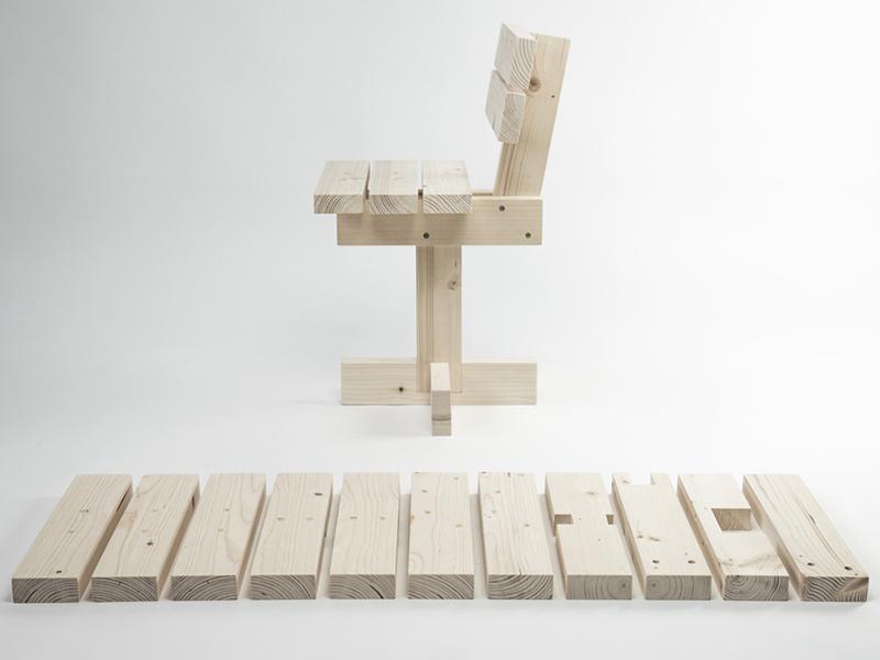 Hamaika, la silla DIY para niños de Unai Rollan