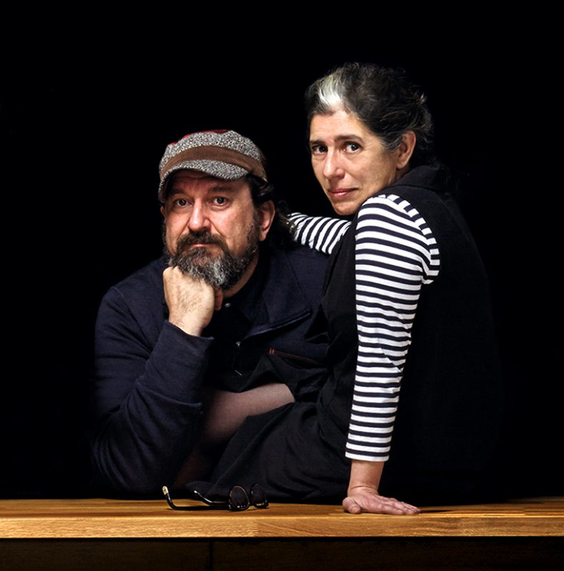 Mariví Calvo y Sandro Tothill