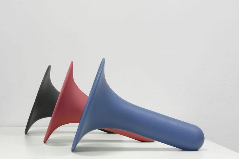 Luciano, el altavoz de cerámica de Paolo Cappello