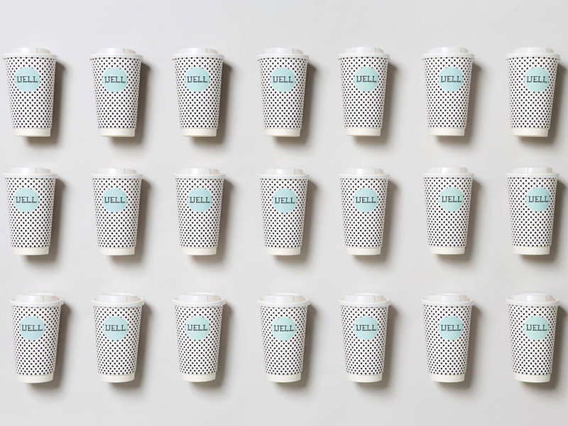 Well Coffee, identidad visual y diseño espacial de Bond