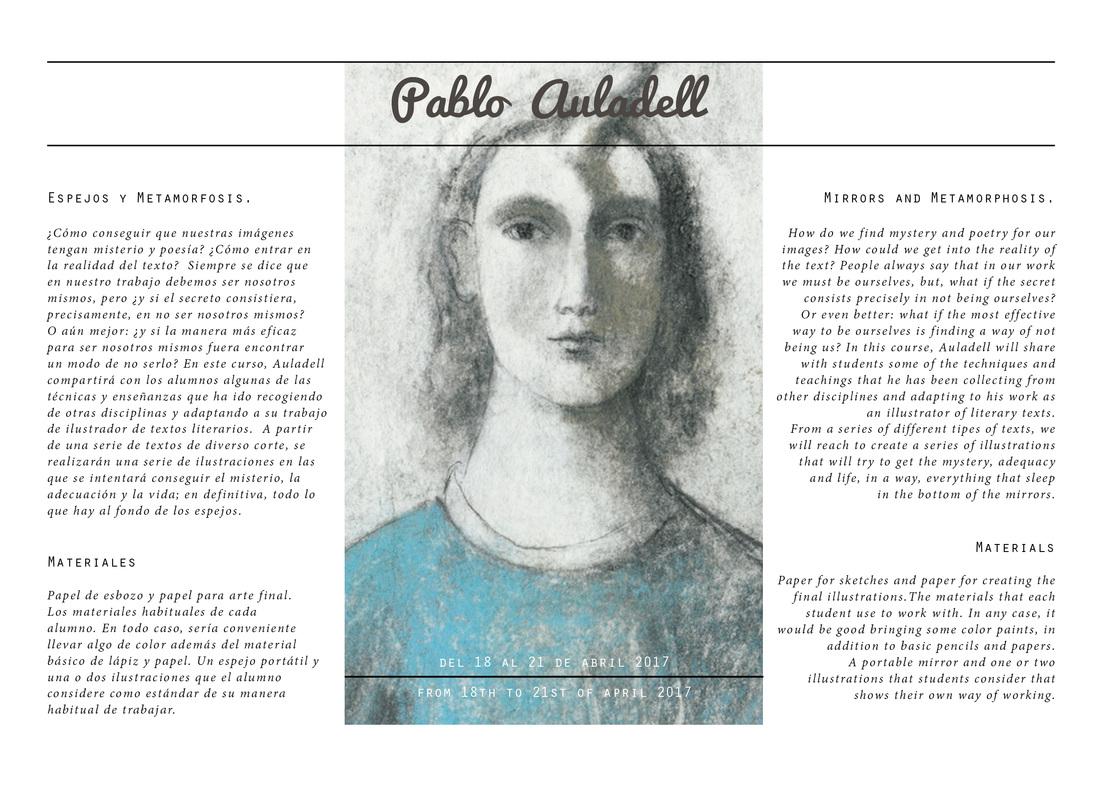 Conferencia, Pablo Auladell, Bilbao, abril, 2017