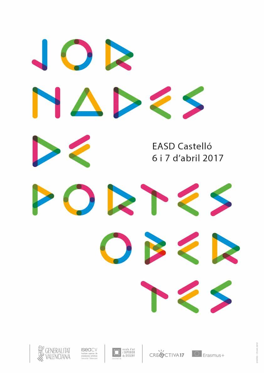 EASD, Escola d'Art i Superior de Disseny de Castelló, Jornadas de puertas abiertas, Castellón, abril, 2017
