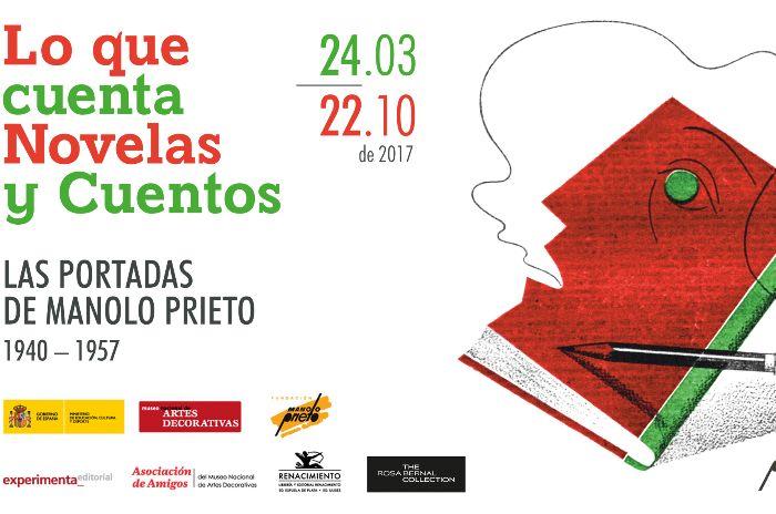 Lo que cuenta Novelas y cuentos. Las portadas de Manolo Prieto (1940-1957). Hasta el 22 de octubre, Madrid