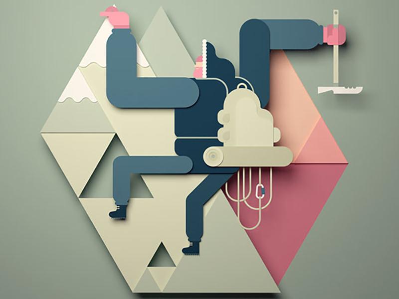 GIF animados, los microcuentos de Edu Fuentes