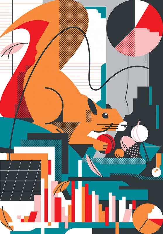 Las ilustraciones de Aleksandar Savić. Color, ironía y sentido del humor