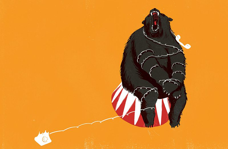 Unbearable para un artículo en The New York Times