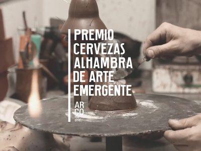 Jose Miguel Pereñíguez, ganador del Premio Cervezas Alhambra de Arte Emergente