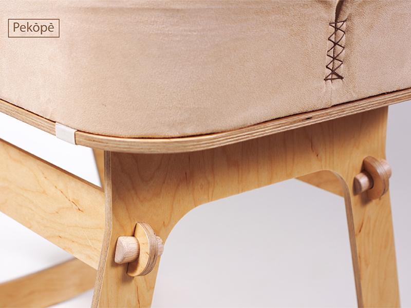 Pekópé, de Levente Lévai. Cuna y mesa para bebes de libre descarga