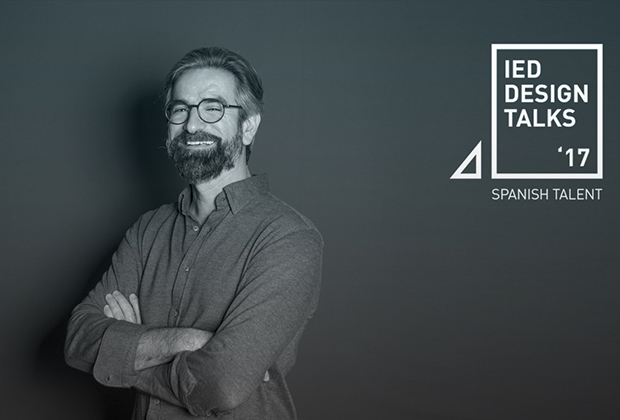 Pepe García, fundador de CuldeSac en el Ciclo IED Design Talks '17 – Spanish Talent