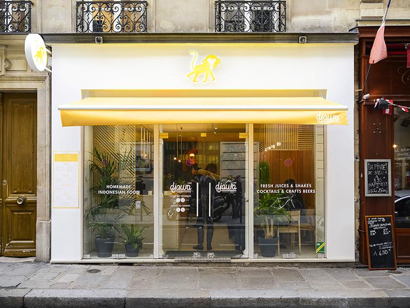 Djawa, un proyecto integral de Studio Hekla en París