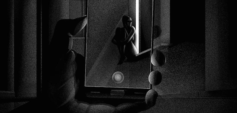 Ilustración para el artículo Seeking Ann, de la publicación The Outline. Marzo 2017.