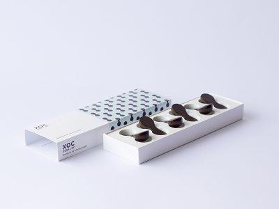 Xoc Doná Joc, packaging y experimentación con chocolate
