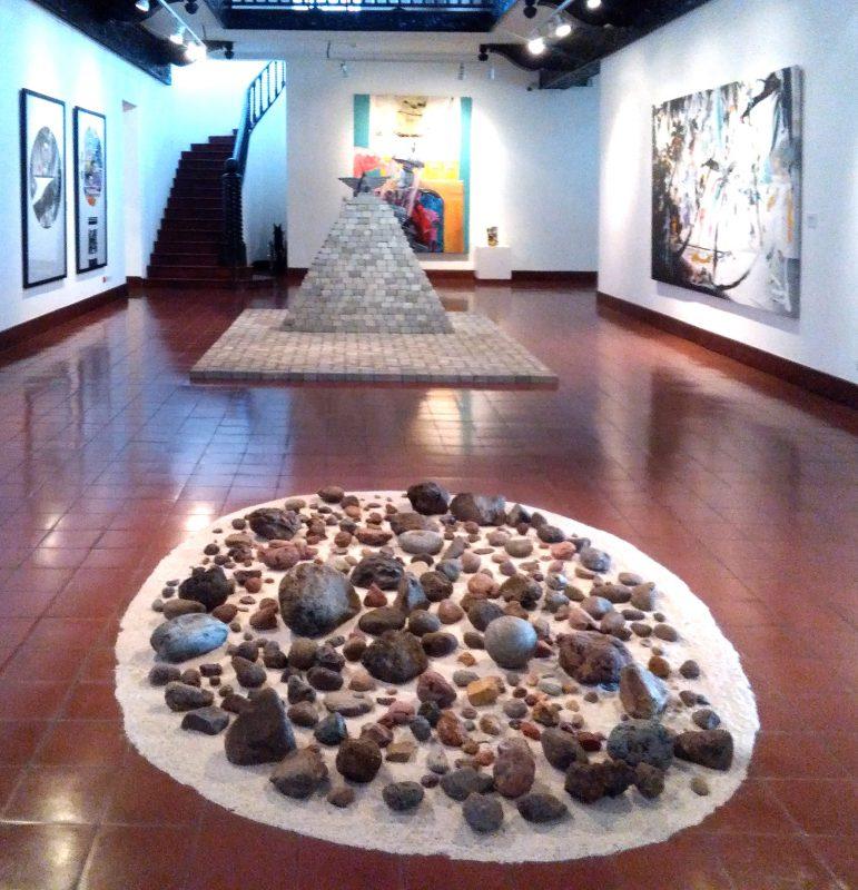 Vista de la sala principal del Museo de Arte Costarricense, Parque Metropolitano La Sabana, San José, Costa Rica. Foto LFQ.