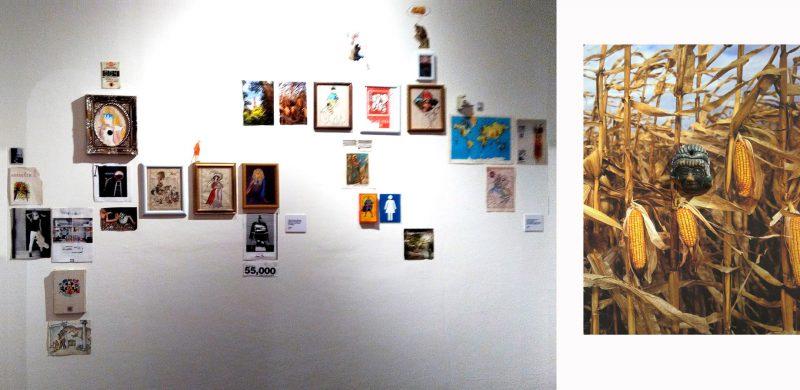 """Pablo Romero. """"¿Arte Indígena? ¡Qué prosiga la empresa del tropicalismo multinacional!"""". Foto cortesía del artista y de Emilia Villegas."""