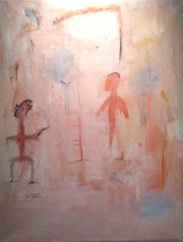 "Robert Carter. ""Sin Título"" (pintura). Foto LFQ."
