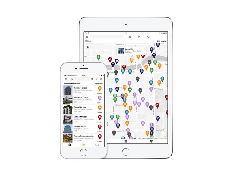 Archimaps, la app de guías de arquitectura