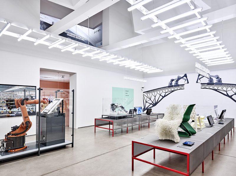 'Hello, Robot' en el Vitra Design Museum. Fotografía: Mark Niedermann